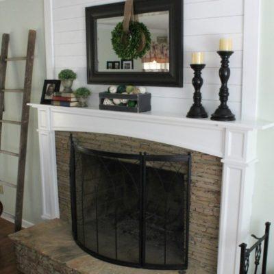 Ship Lap & A Fireplace