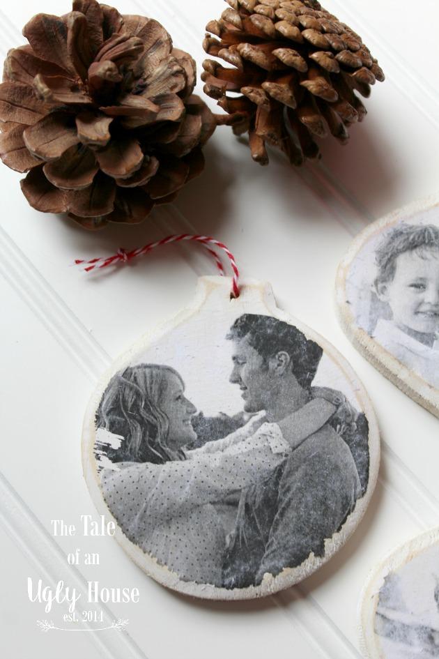 DIY Vintage Photo Ornaments