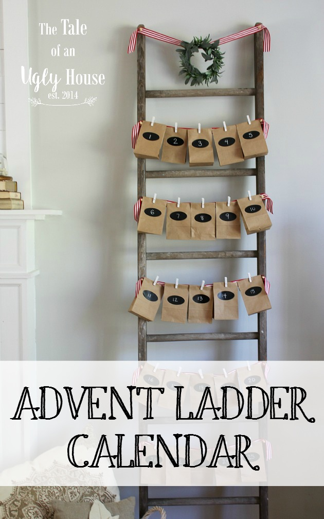 Advent Ladder Calendar