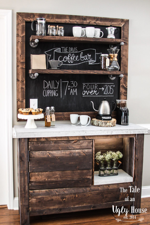 Coffee Bar Build Sincerely Marie Designs