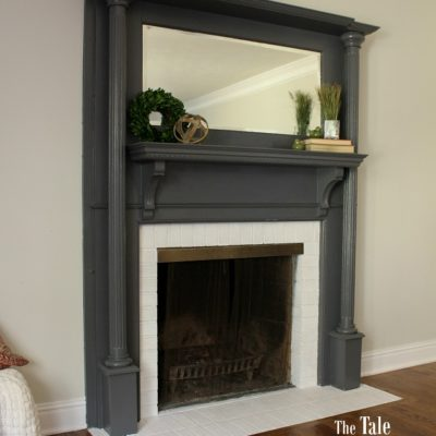 A Fresh Fireplace Makeover