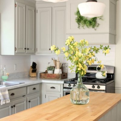 Our Colonial Kitchen Makeover