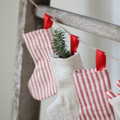 DIY Advent Calendar With Stockings
