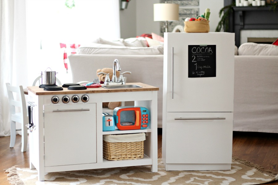 Farmhouse Style Kids Play Kitchen