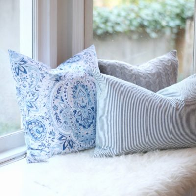 Spring Pillow How-To + My Favorite Places To Buy Fabric