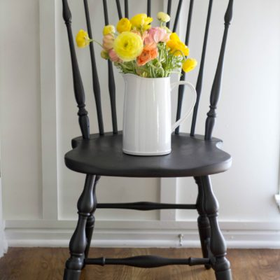 Our Freshly Painted Dining Chairs & Our Favorite Furniture Paint
