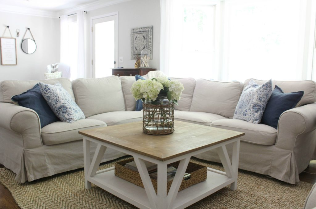 Sensational An Honest Ikea Ektorp Review The Latest Family Room Addition Theyellowbook Wood Chair Design Ideas Theyellowbookinfo