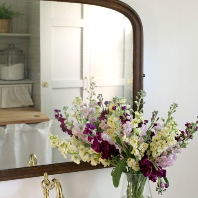 Our Vintage Style Laundry/Powder Room Reveal