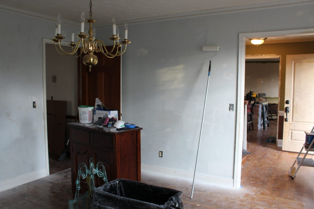 The Dining Room Before