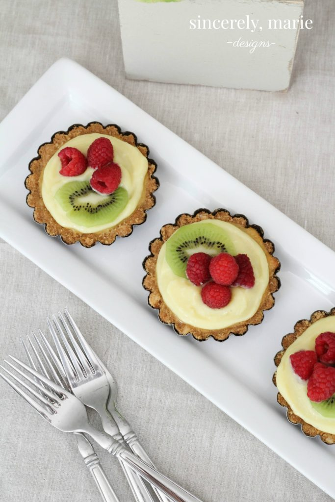 Almond & Lemon Tarts