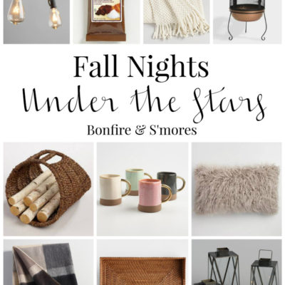 A Fall Night Under the Stars – My Fall Outdoor Essentials