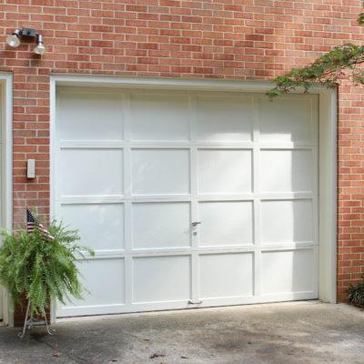 Garage Door Makeover with the Homeright Sprayer