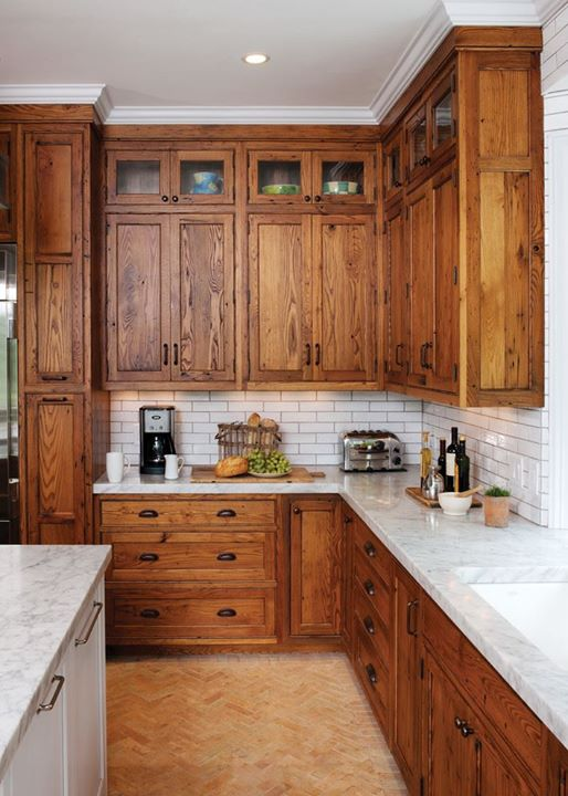 15 Stunning Kitchens with Stained Cabinets - Sincerely ...