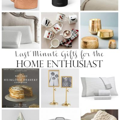 Last Minute Gift Ideas – Some of My Favorite Things