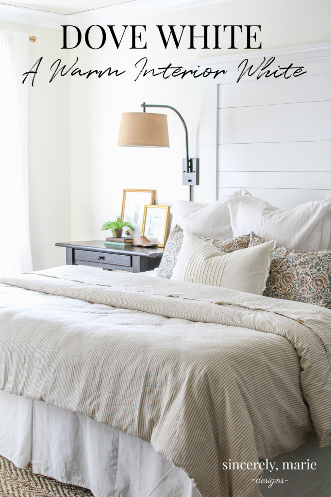 Dove White by Benjamin Moore