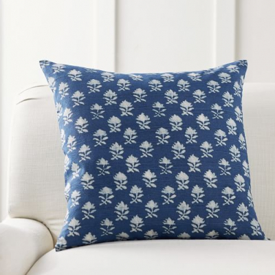 My Favorite Blue & White Pillows For Summer