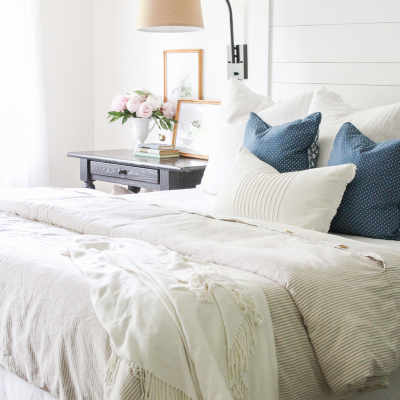 3 Ways to Create a Light & Airy Summer Bedroom