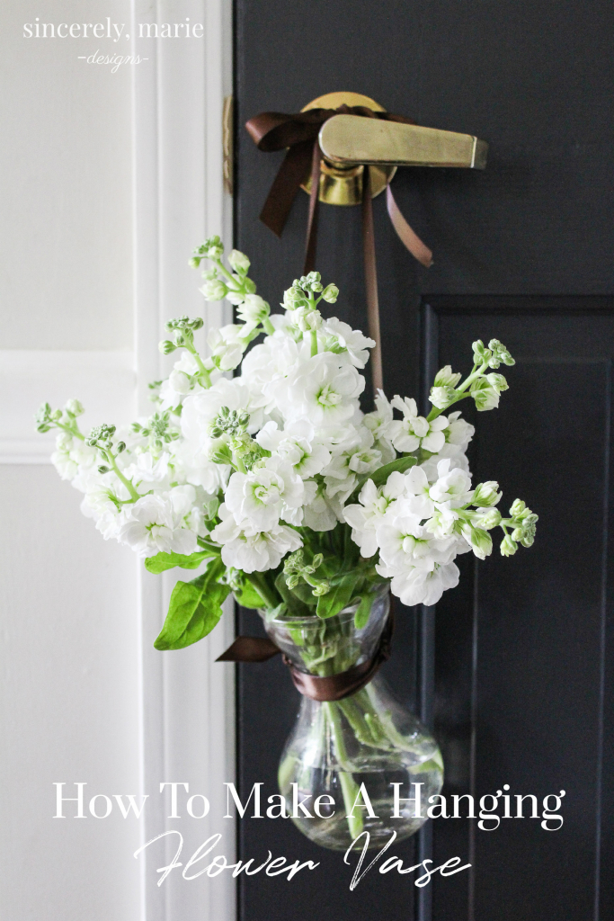 DIY Hanging Flower Vase