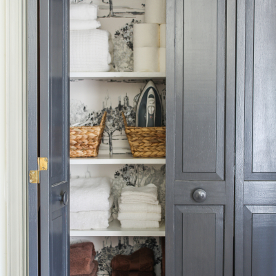 Our Quick Linen Closet Makeover