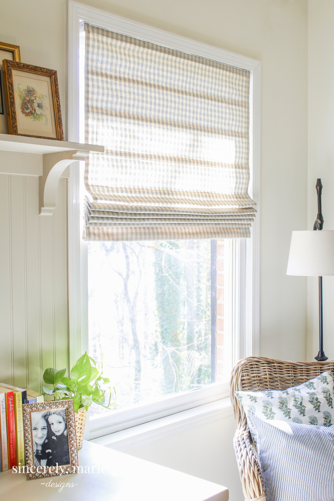 Easy Diy Roman Shade Sincerely Marie Designs