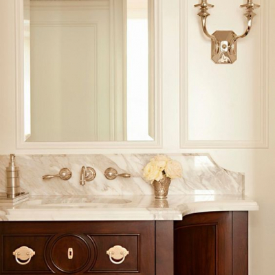Timeless Master Bathroom Renovation – Design Plan