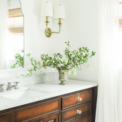 Our Elegant & Timeless Master Bathroom Reveal