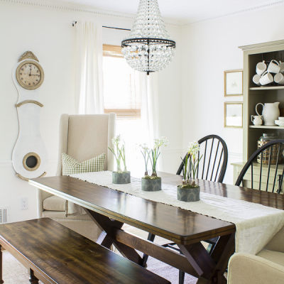 Our Dining Room Update with European Touches