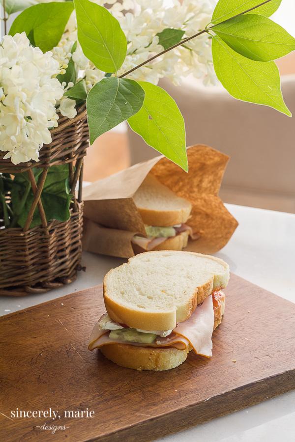 Turkey Berry Brie Sandwich Recipe