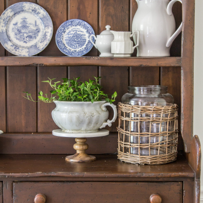 An Old Irish Hutch – Our Curbside Find