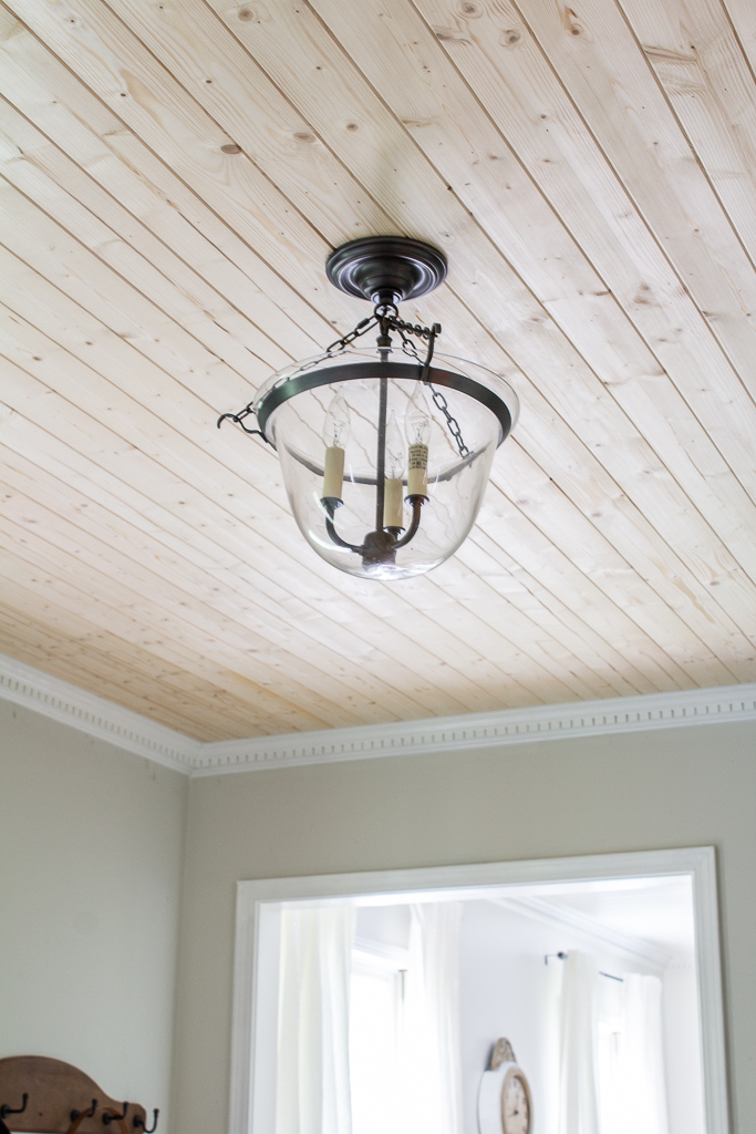 How To Easily Plank A Textured Ceiling