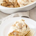 Apple Cider Cinnamon Rolls