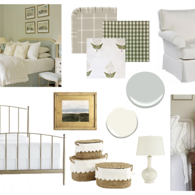 Design Plans For Our Guest Bedroom