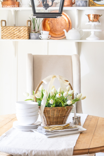 Easter Basket Centerpiece