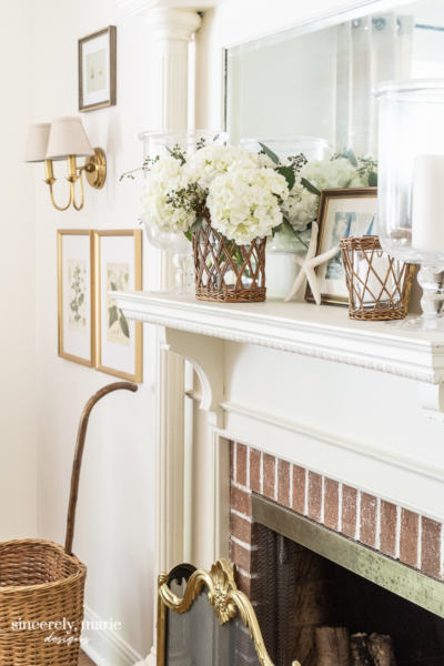 Summer Mantel with Character
