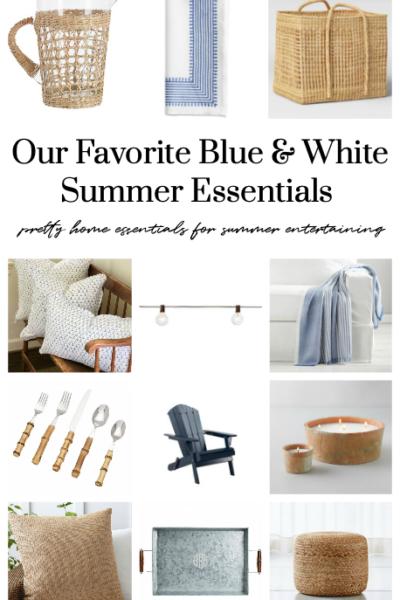 Blue & White Summer Decor Essentials