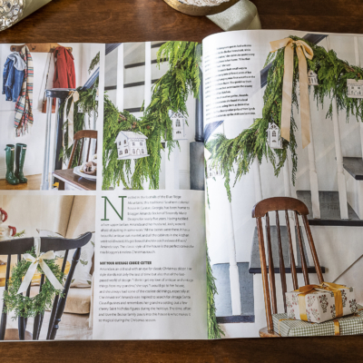 Our Christmas Feature In American Farmhouse Style Magazine