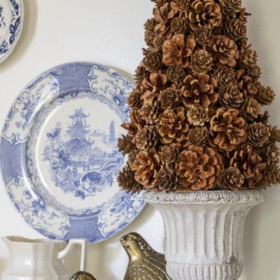 DIY Pinecone Tree