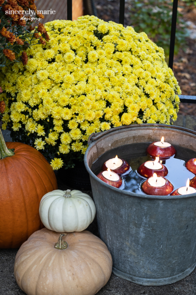 Simple Fall Porch