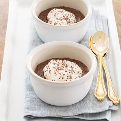 Chocolate – Orange Pots de Crème