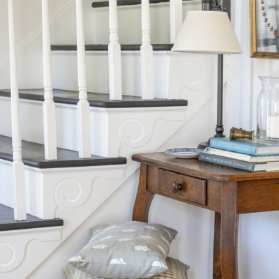 Adding Charm To A Staircase – Our New Staircase Trim