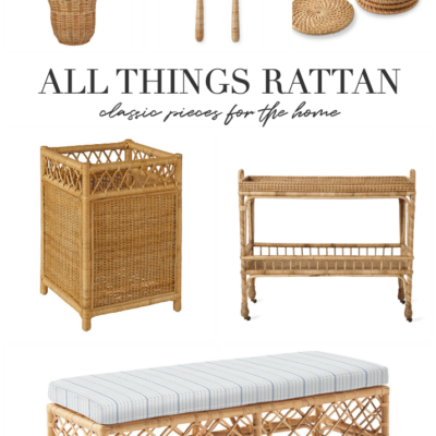 All Things Rattan For The Home – Rattan Home Décor
