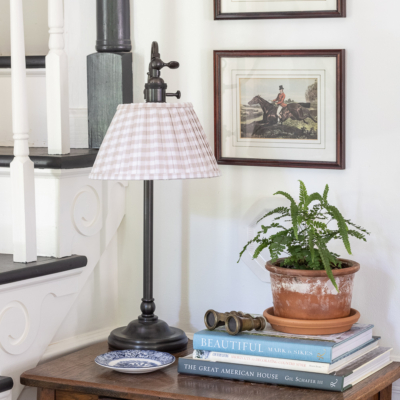 DIY Pleated Lamp Shades