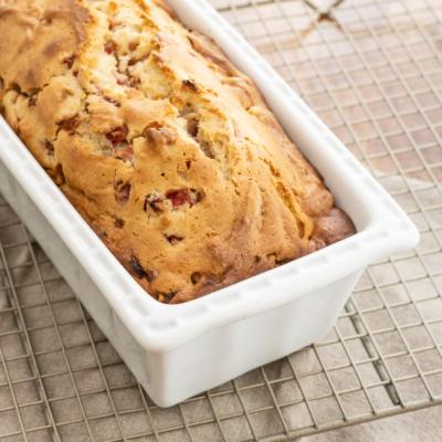 Glazed Strawberry Sweet Bread