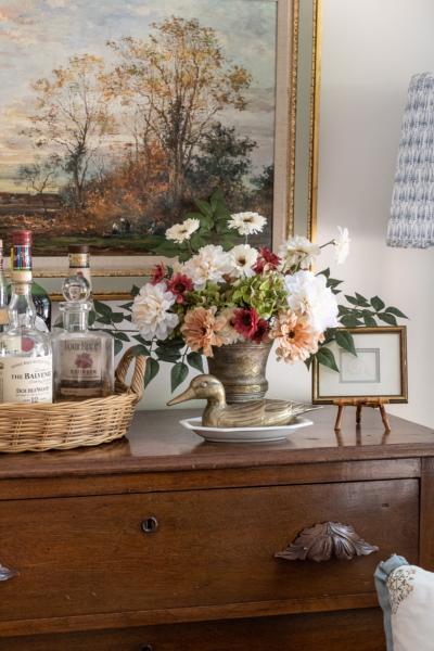 A Late Summer Floral Arrangement