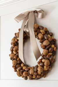 DIY Nut Wreath