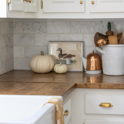 Our Collected Fall Kitchen Tour