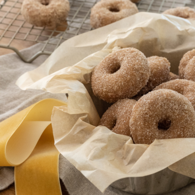 The Best Baked Apple Cider Donuts